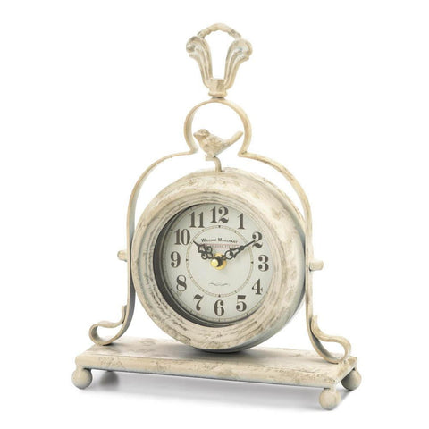 Vintage Tabletop Clock - Shop For Decor