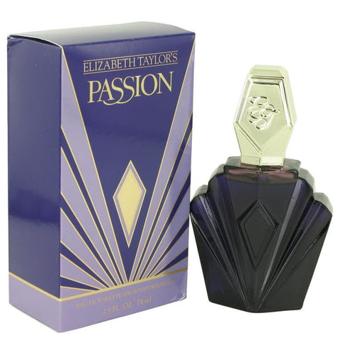 Passion By Elizabeth Taylor Eau De Toilette Spray 2.5oz For Women - Shop For Decor