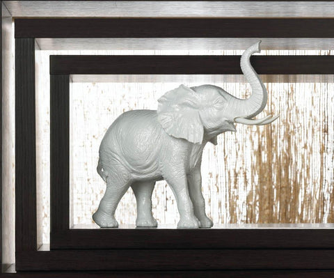 White Elephant Figurine - Shop For Decor