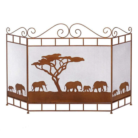 Wild Savannah Fireplace Screen - Shop For Decor