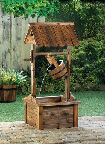 Wishing Well Water Fountain - Shop For Decor