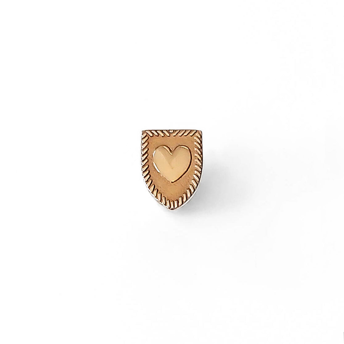 Heart Shield Pin