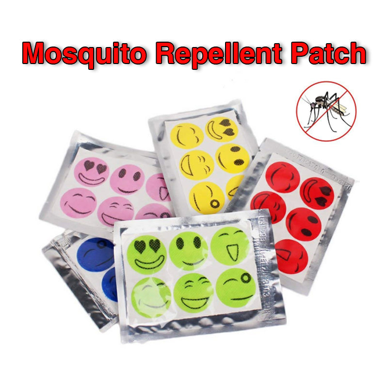 Mvstu ™ Natural Mosquito Repellent Patches Stickers