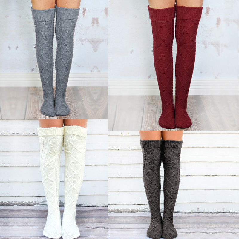 Over-knee Knit Socks