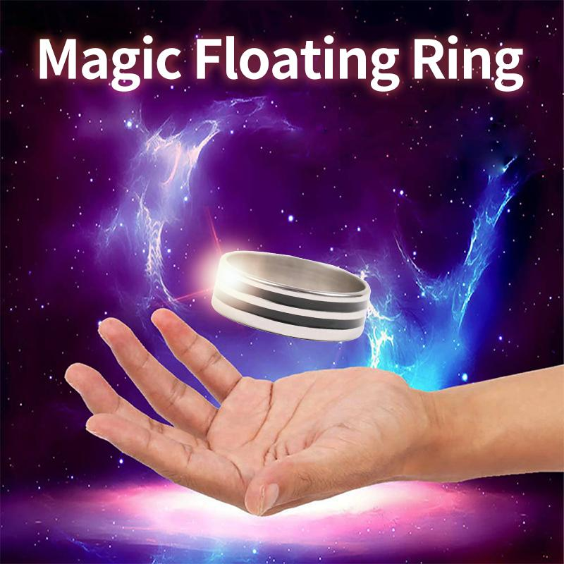 MVSTU™ Magic Props Floating Ring Magic Trick