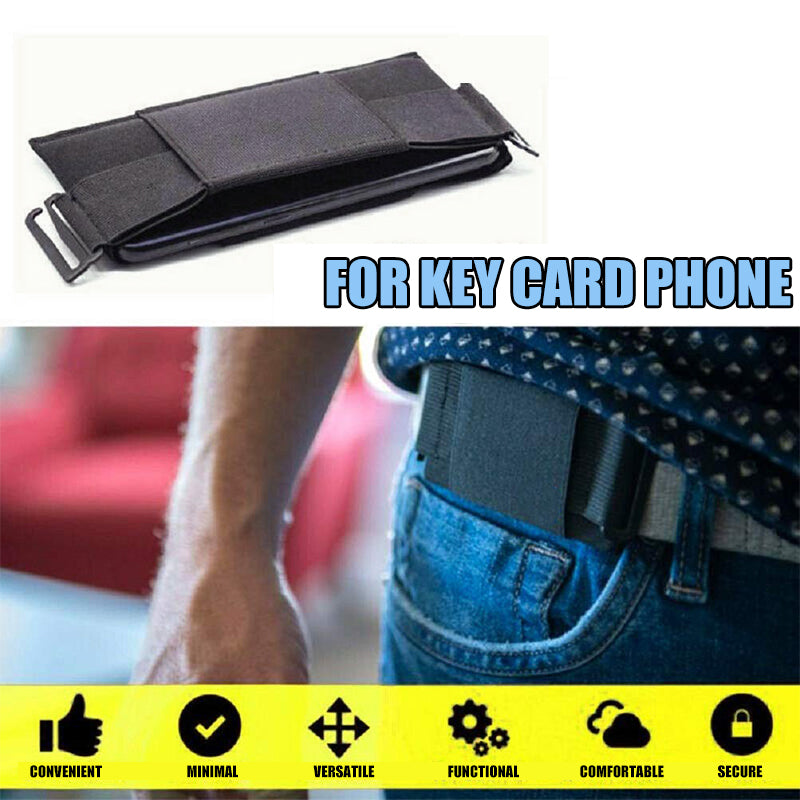 Invisible Mini Belt Wallet