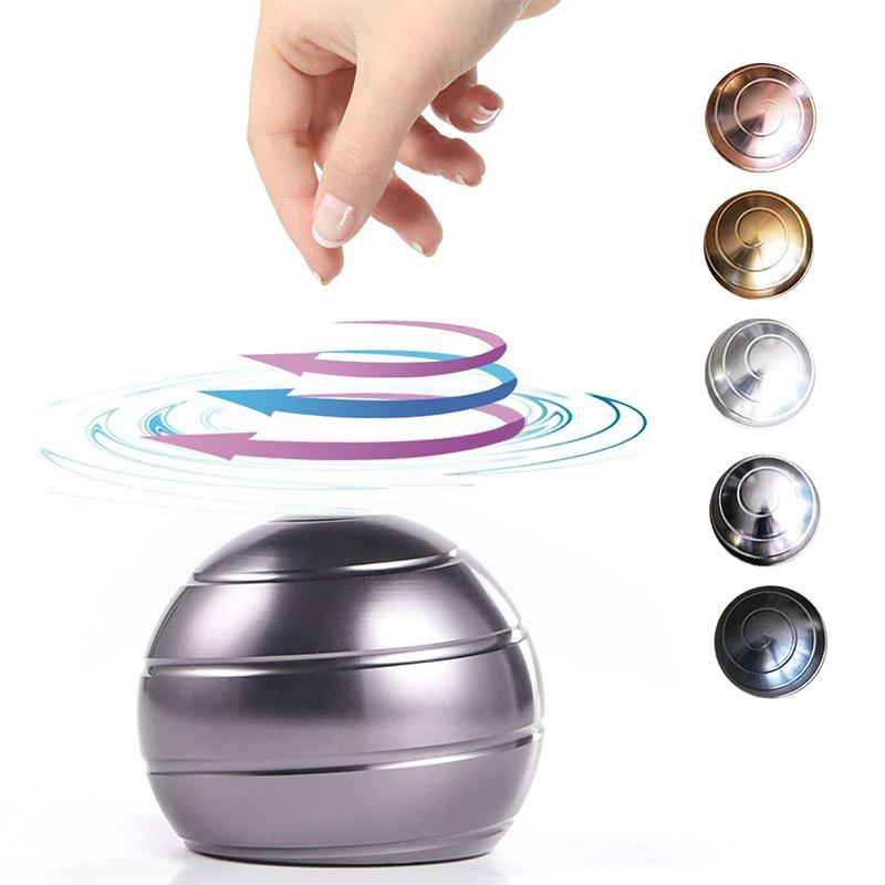 Mvstu ™ Office Toys Stress Relief Visual Illusion Metal Ball