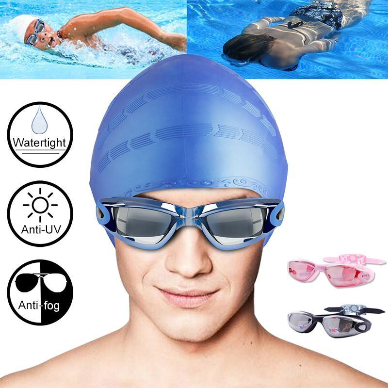 Mvstu™ Swimming Set - Goggles, Cap, Earplug, Nose Clip