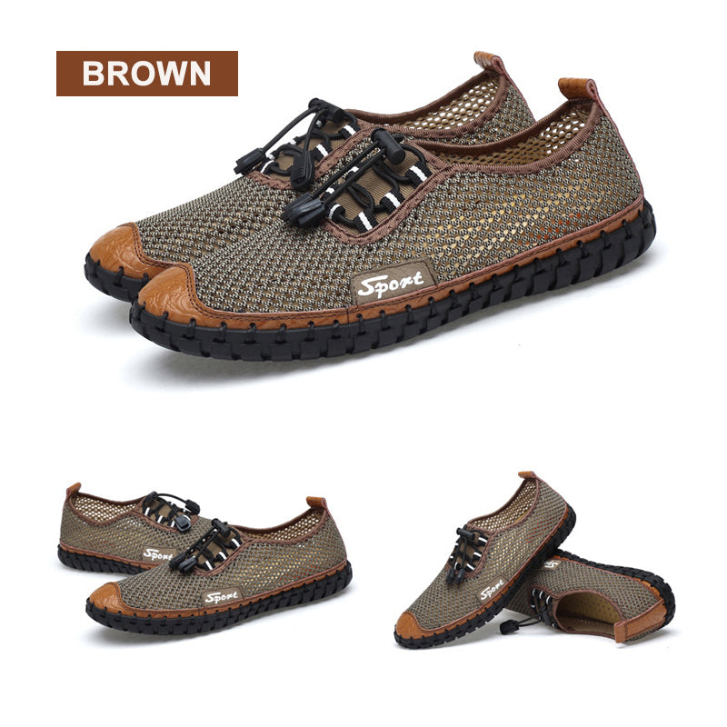 Mvstu ™ Men Trendy Summer Breathable Shoes
