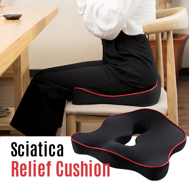Memory Foam Sciatica Relief Cushion