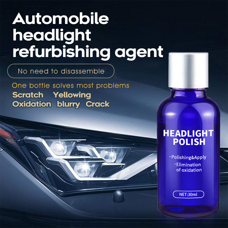 9H High Density Headlight Polish Liquid
