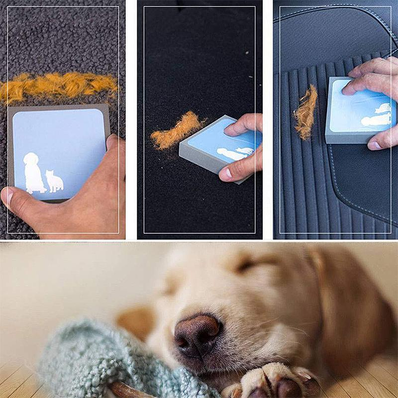 Magic Pet Hair Foam Block Erasing