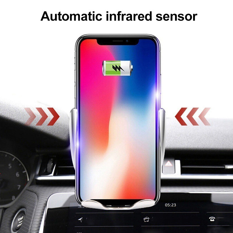 Mvstu ™ Magic Clip Car Infrared Fast Wireless Charger