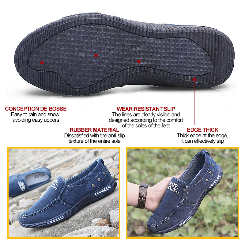 Mvstu™ SHOES CLASSIC SLIP-ON LOW-TOP