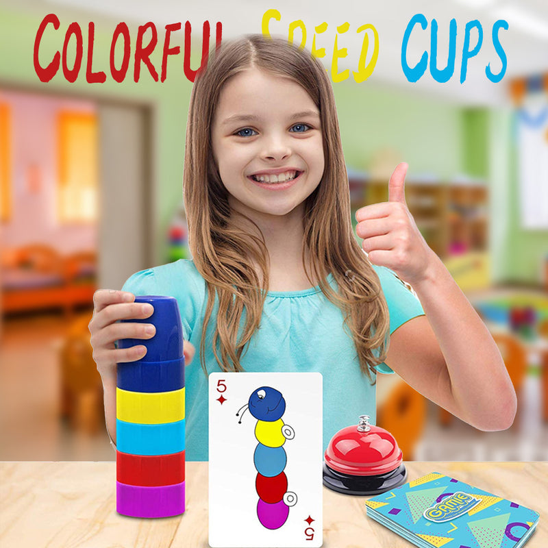 Mvstu™ Colorful Speed Cups