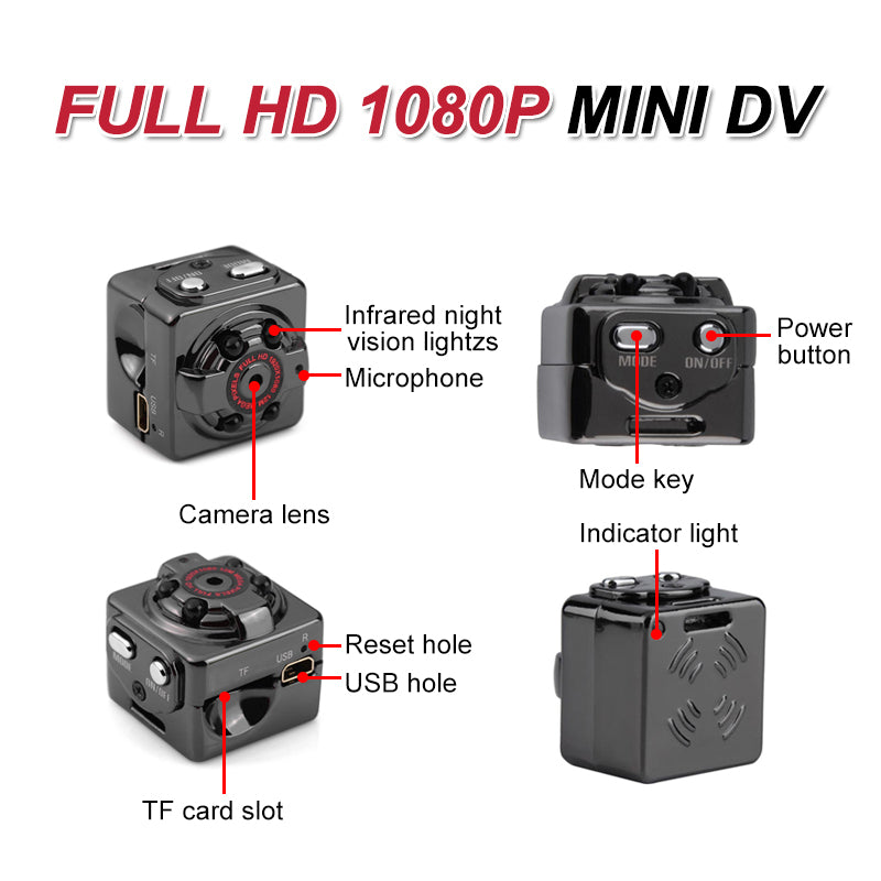 Mvstu ™ HD  Mini Body Camera