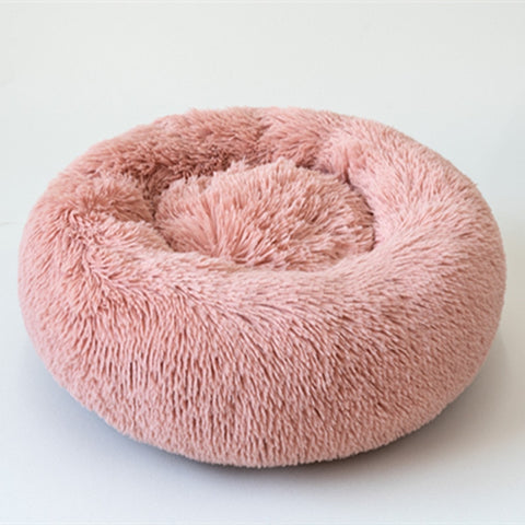Image of Marshmallow Donut Cuddler Dog Bed
