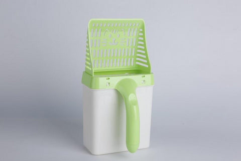 Image of Cat Litter Scooper-Box EZ Disposal