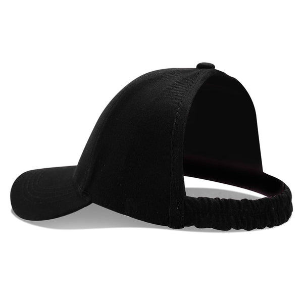 FroCap / CurlyCap / Half-Cap! Women's Backless Baseball Cap For Natural Curly Or Afro Hair (Afro Curly Hair Backless Hat) - ShopInTheNude.com