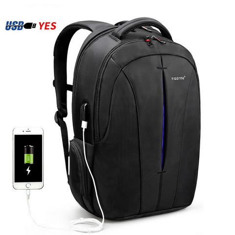 Premium Anti-Theft USB Waterproof 15.6inch Laptop Backpack NO Key TSA Travel Backpack - ShopInTheNude.com