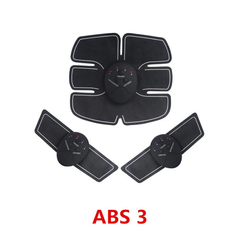Image of 2/4/6/8pcs Set Hip Trainer Abdominal Machine Electric Muscle Stimulator (EMS) Abs Trainer Body slimming Massage without retail box - ShopInTheNude.com
