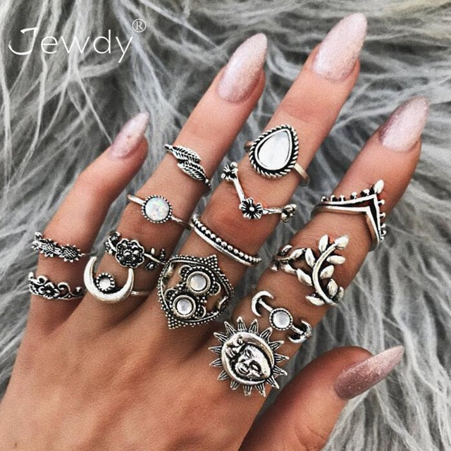 50 Various Styles Rings Sets To Choose From! (page slow to load but worth it)