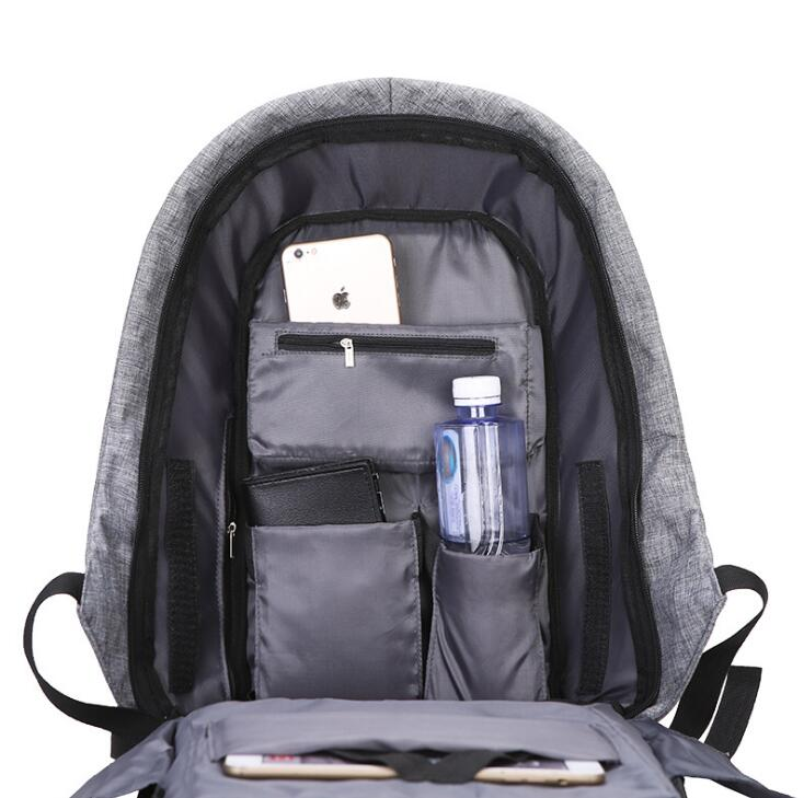Anti Theft Laptop Backpack With USB Charging
