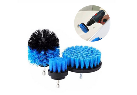 3pc Power Drill Brush Set