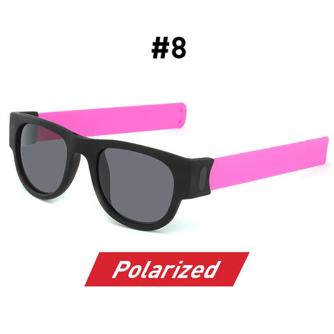 SlapSlap Sunnies Polarized Wristband Bracelet Folding Sunglasses