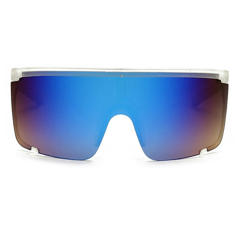 Image of Oversize Mask Shield Visor Sunglasses UV400