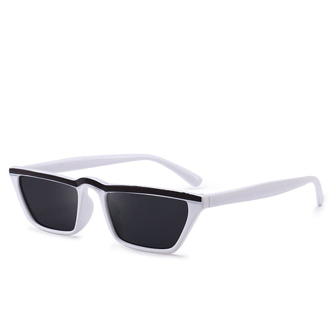Colored Flat-Top Classic Frame Sunglasses UV400