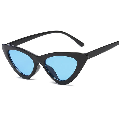 Image of Small CatEye Triangle Sunglasses UV400