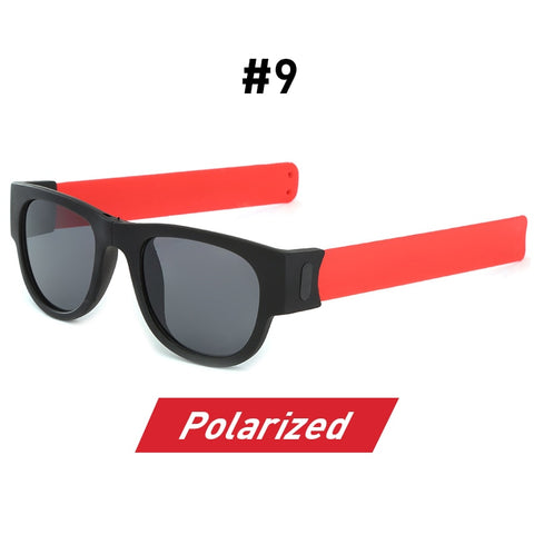 Image of SlapSlap Sunnies Polarized Wristband Bracelet Folding Sunglasses