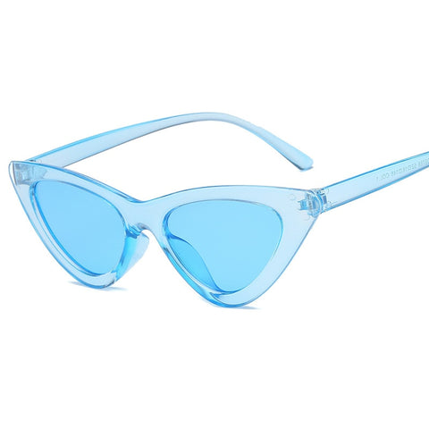 Small CatEye Triangle Sunglasses UV400