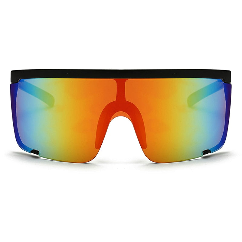 Oversize Mask Shield Visor Sunglasses UV400