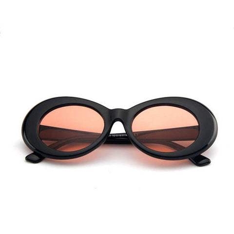 Image of Oval Fashion Vintage Sunglasses UV400