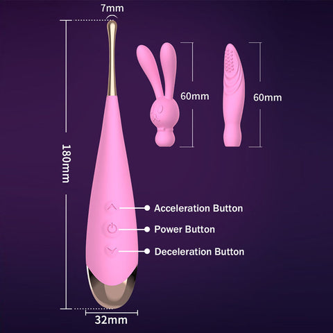 Image of Powerful Variable High Frequency Vibrator Stimulator Massager