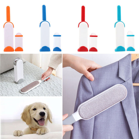 Reusable Pet Hair & Fur Remover Set (Dog, Cat, Long Fur Babies...)