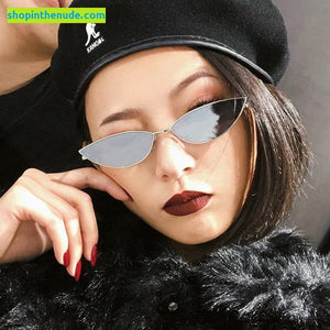 Metal Small Colorful Almond / CatEye Sunglasses UV400 (Buy 1 get 2 FREE!)