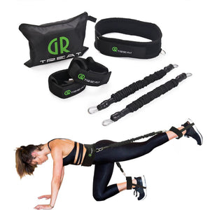 Better Booty Belt - Butt Resistance Workout Belt (New, Improved and Upgraded!)