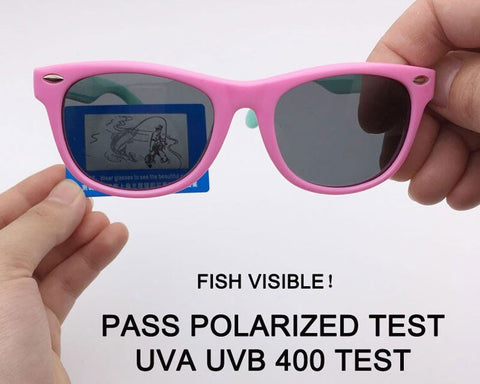 Non-Breakable Flexible Polarized Children Sunglasses  UV400 Eyewear