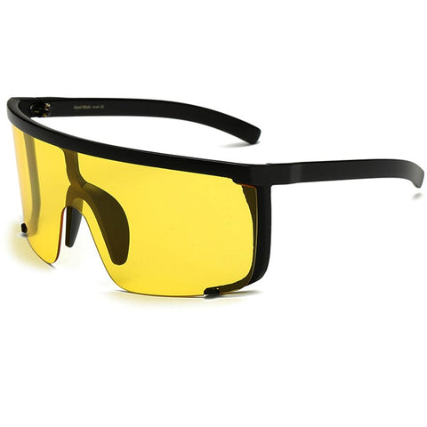 Oversize Mask Shield Visor Sunglasses