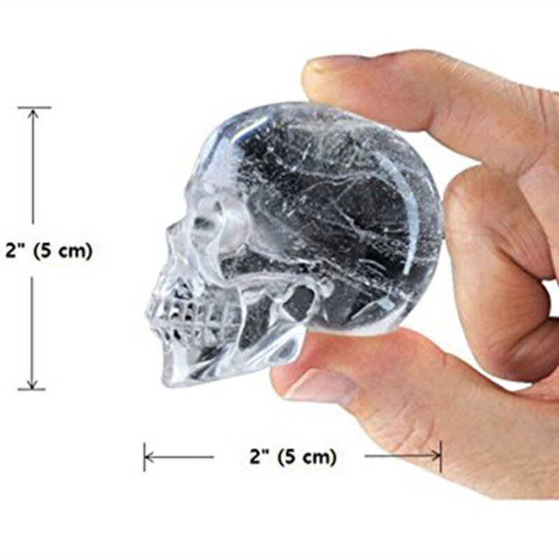 Creative Home 3-Dimensional Skull Ice Tray Cake Jelly Chocolate Mold Party Kitchen Silicone Baking Tools