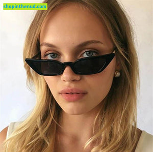 Colorful Transparent Angular CatEye Frame Sunglasses UV400 (Buy 1 get 2 FREE!)