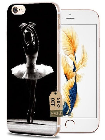Image of Ballet, Ballerina & Shoes Soft Phone case For iPhone X, XS, XS MAX, XR, 5/5s, 6/6s, 6s Plus, 7/8, 7 Plus, 8 Plus - ShopInTheNude.com