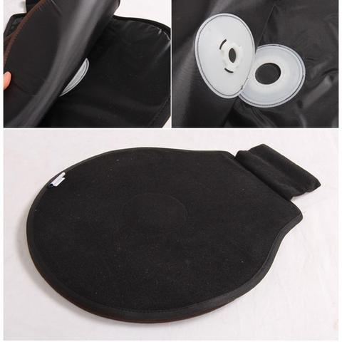 360° Rotation Car Seat Cushion Swivel Memory Foam Mobility Aid Chair Seat Pad