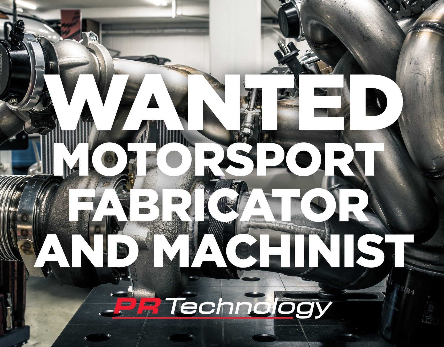 Motorsport Fabricator & Machinist WANTED