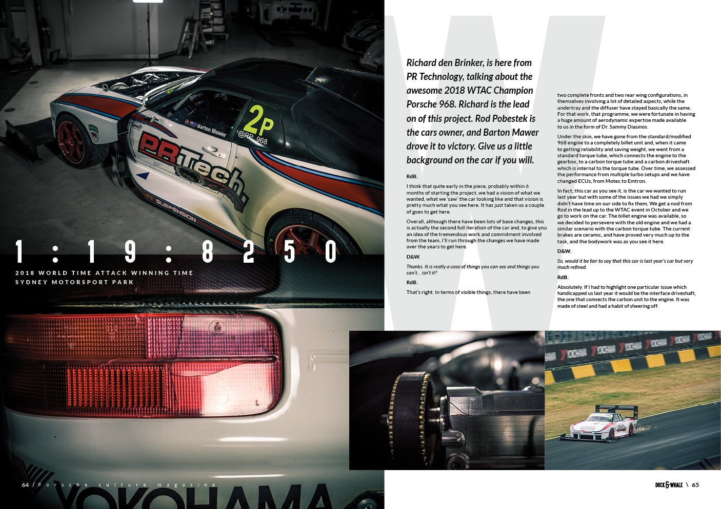 Duck & Whale RP968 Article