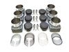 PS102-020 Piston & Cylinder Kit PORSCHE 964/993 Turbo 3.6L to 3.8L Slip-in ø107mm cylinder case register, shorter 114.5mm tall cylinder MAHLE Motorsport