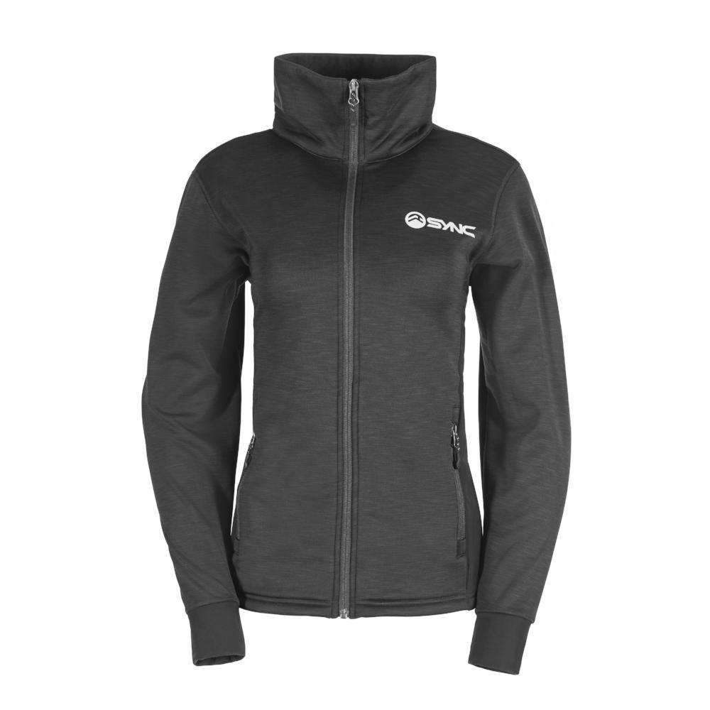 sync-performance-black-womens-training-jacket-fleece-front